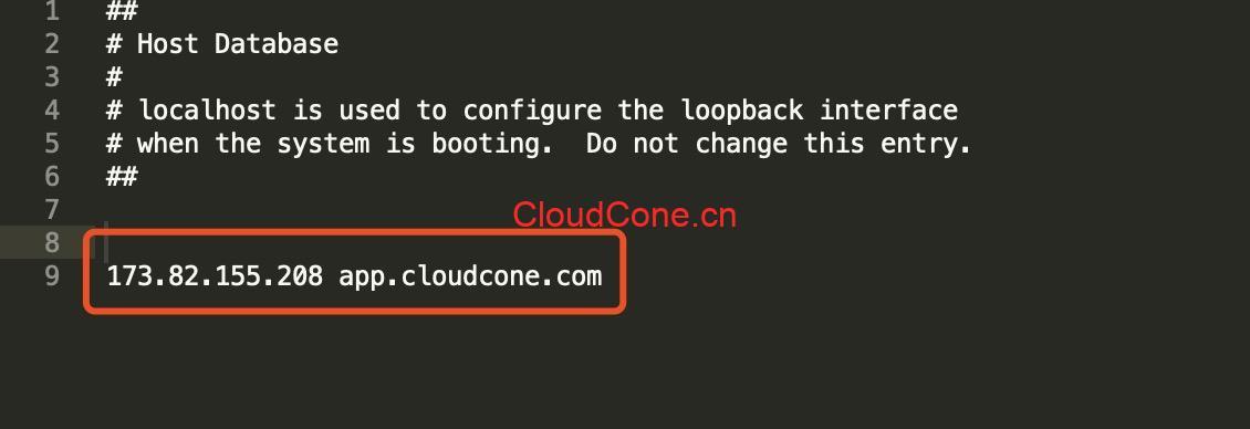 app.cloudcone.com.cn连不上
