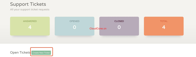 CloudCone付费换IP